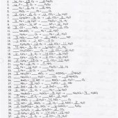 Chapter 7 Worksheet 1 Balancing Chemical Equations Answer Key