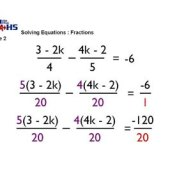 How To Solve Fraction Equations