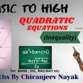 Quadratic Equations Practice For Bank Po