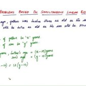 Simultaneous Equations Word Problems Solver