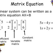 Solve System Of Linear Equations Using Inverse Matrix