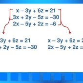 System Of Equations In Three Variables